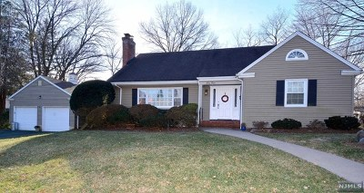 Tenafly Single Family Home Under Contract: 68 Burlington Road