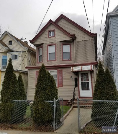 Passaic Multi Family 2-4 Under Contract: 87 Burgess Place