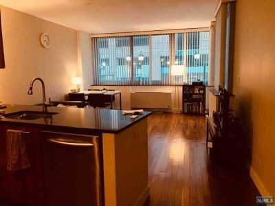 Hudson County Condo/Townhouse Under Contract: 25 Hudson Street #214
