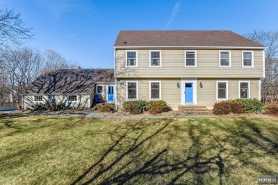 Morris County Single Family Home Under Contract: 581 Powerville Road