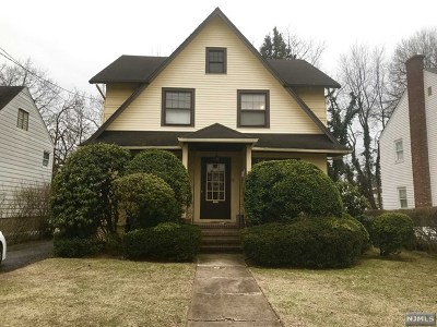 Bergenfield Single Family Home Under Contract: 72 Vreeland Avenue