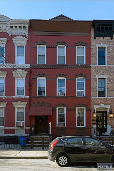Hudson County Multi Family 2-4 Under Contract: 1214 Park Avenue