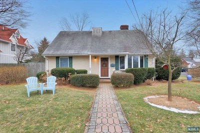 Tenafly Single Family Home Under Contract: 68 Day Avenue