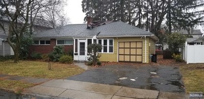 Fair Lawn Single Family Home Under Contract: 37-07 High Street