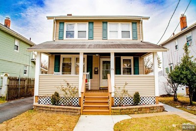 Bergenfield Single Family Home Under Contract: 26 East Clinton Avenue