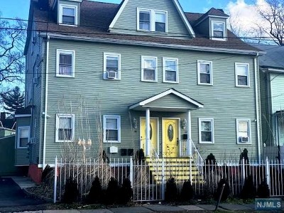 Essex County Multi Family 2-4 Under Contract: 122-124 Park Street