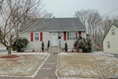 Fair Lawn Single Family Home Under Contract: 9-16 Mansfield Drive