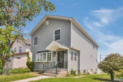 Carlstadt Single Family Home Under Contract: 601 10th Street