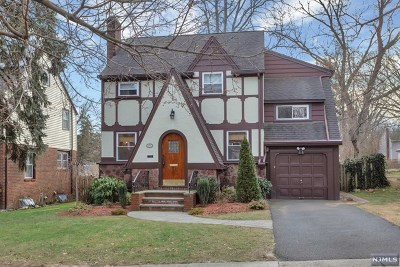 Teaneck Single Family Home Under Contract: 172 Herrick Avenue