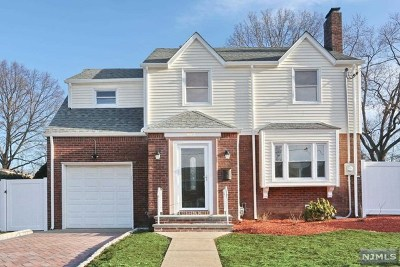 Hackensack Single Family Home Under Contract: 462 Blanchard Terrace