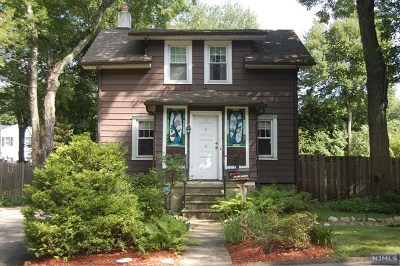 Closter Single Family Home Under Contract: 11 1st Street