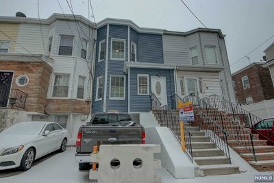 Hudson County Single Family Home Under Contract: 104 West 55th Street