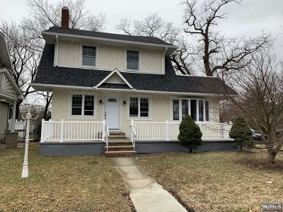 Teaneck Single Family Home Under Contract: 32 Franklin Road