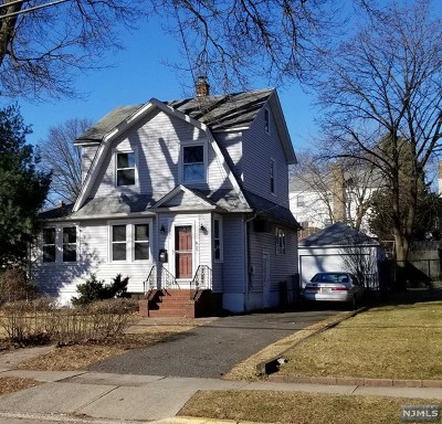 Teaneck Single Family Home Under Contract: 590 Chestnut Avenue