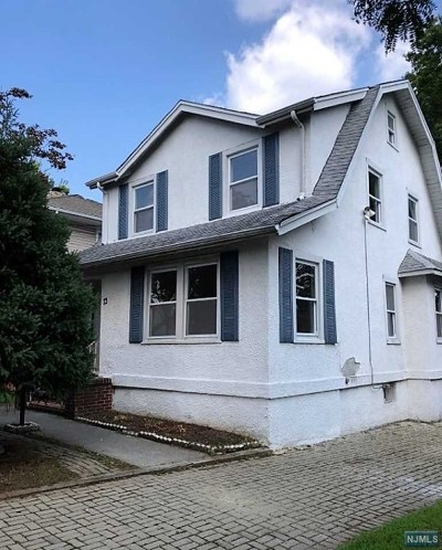 Bogota Single Family Home Under Contract: 73 Palisade Avenue