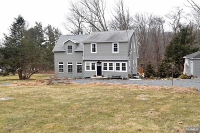 Rockaway Township Single Family Home Under Contract: 60 Upper Hibernia Road