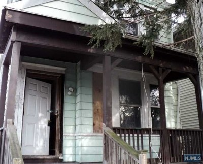 Essex County Single Family Home Under Contract: 231 Snyder Street