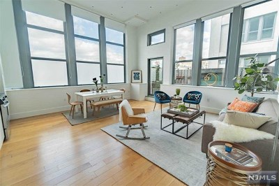 Hudson County Condo/Townhouse Under Contract: 50 Dey Street #237