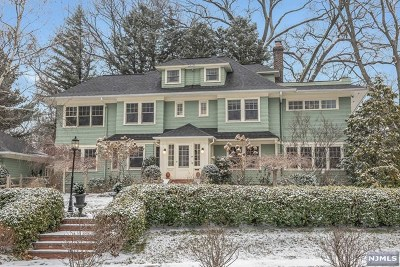 Essex County Single Family Home Under Contract: 85 Norwood Avenue