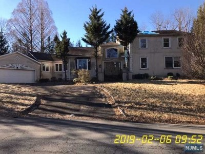 Closter Single Family Home Under Contract: 218 Irving Avenue