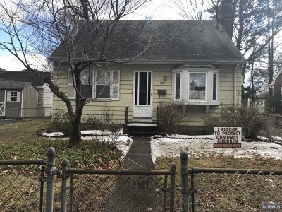 Dumont Single Family Home Under Contract: 75 Forest Road