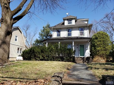 Glen Rock Multi Family 2-4 Under Contract: 307 Ackerman Avenue