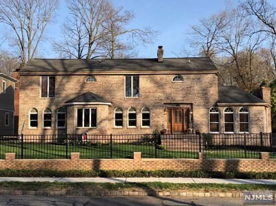 Essex County Single Family Home Under Contract: 139 Park Avenue