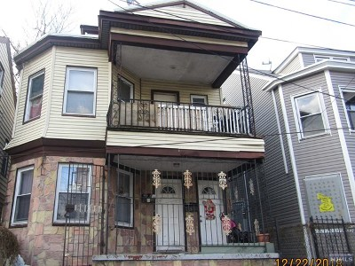 Passaic County Multi Family 2-4 Under Contract: 598-600 East 23rd Street