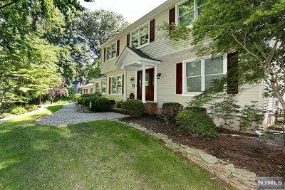 Montvale Single Family Home Under Contract: 59 Valley View Terrace