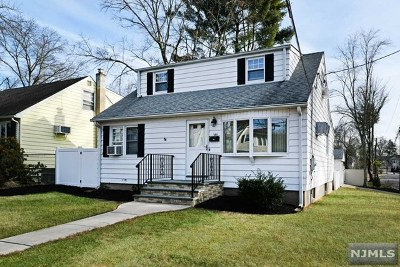 Bergen County Single Family Home Under Contract: 185 Calvin Street