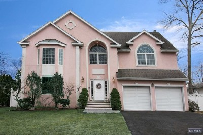 Bergen County Single Family Home Under Contract: 27 Sunset Place