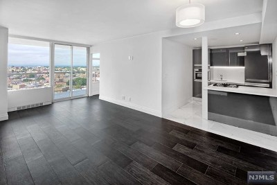 Hudson County Condo/Townhouse Under Contract: 6050 Boulevard East #22d