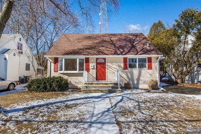 Pompton Lakes Single Family Home Under Contract: 244 Ackerman Place