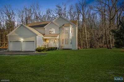 Rockaway Township Single Family Home Under Contract: 1078 Green Pond Road