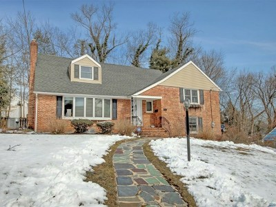 Tenafly Single Family Home Under Contract: 169 Westervelt Avenue