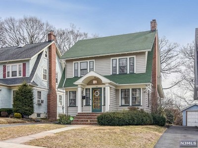 Essex County Single Family Home Under Contract: 63 Hawthorne Avenue