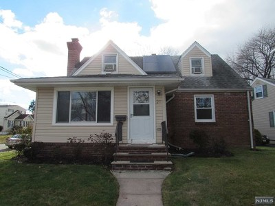 Hackensack Single Family Home Under Contract: 21 South Lake Drive