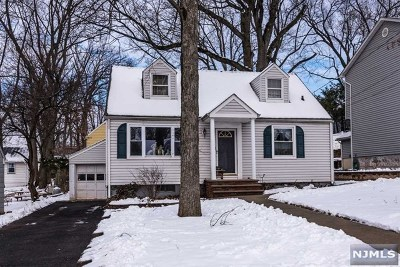 Bergen County Single Family Home Under Contract: 55 Columbus Avenue