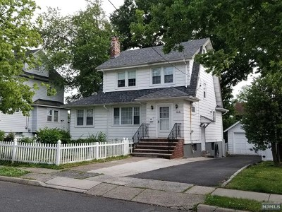 Bogota Single Family Home Under Contract: 166 Cypress Avenue