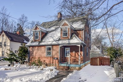 Essex County Single Family Home Under Contract: 28 Erie Place