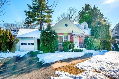 Bergenfield Single Family Home Under Contract: 20 Cleveland Street