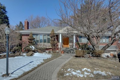 Fair Lawn Single Family Home Under Contract: 18 Chittenden Road