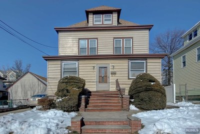 Passaic County Single Family Home Under Contract: 66 Bond Street