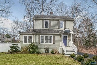 Closter Single Family Home Under Contract: 56 Julia Street