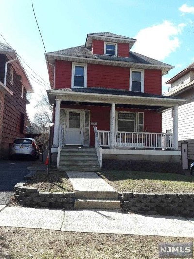 Ridgefield Park Single Family Home Under Contract: 41 Hobart Street