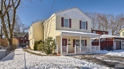 Pompton Lakes Single Family Home Under Contract: 12 Adrian Street