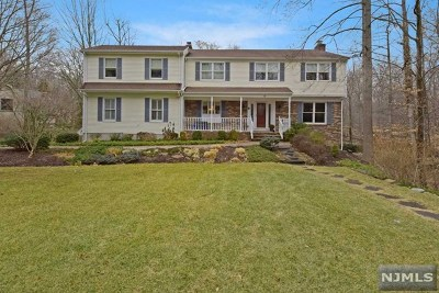 Montvale Single Family Home Under Contract: 48 Valley View Terrace