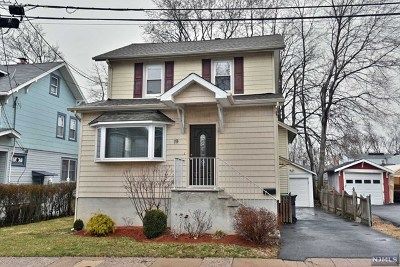 Bergenfield Single Family Home Under Contract: 19 Tuscarora Street