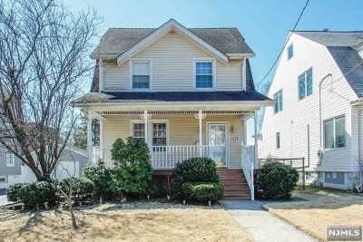 Ridgefield Park Single Family Home Under Contract: 19 Union Place