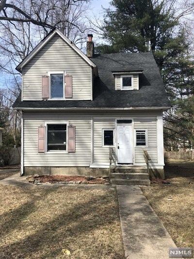 Ramsey Single Family Home Under Contract: 25 Hart Street